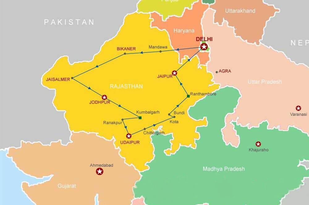 Rajasthan Tourist Map tourist map of Rajasthan  tourist map of India  Toruist Map Rajasthan