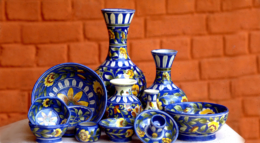 blue_pottery_craft_handicraft